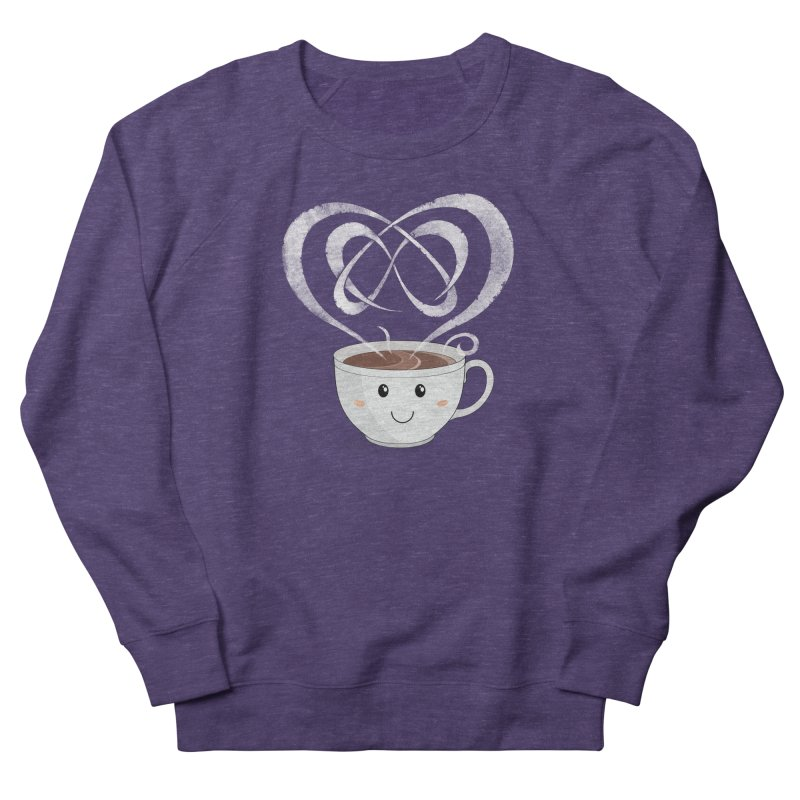 Coffee Lover Women's French Terry Sweatshirt by Cumulo 7