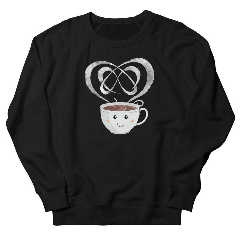 Coffee Lover Men's French Terry Sweatshirt by cumulo7's Artist Shop