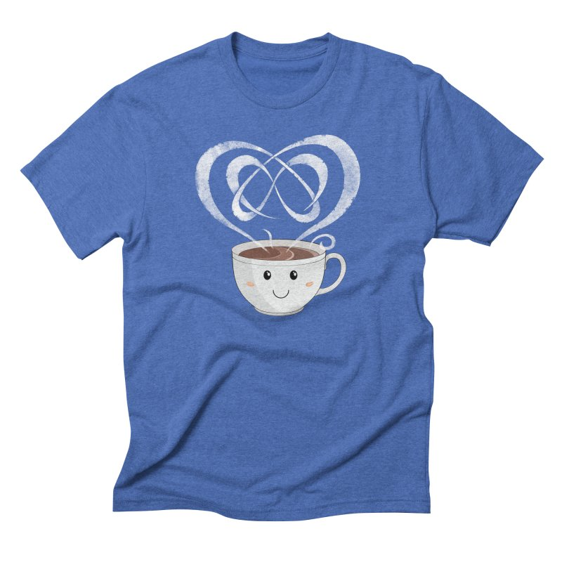 Coffee Lover Men's Triblend T-Shirt by cumulo7's Artist Shop