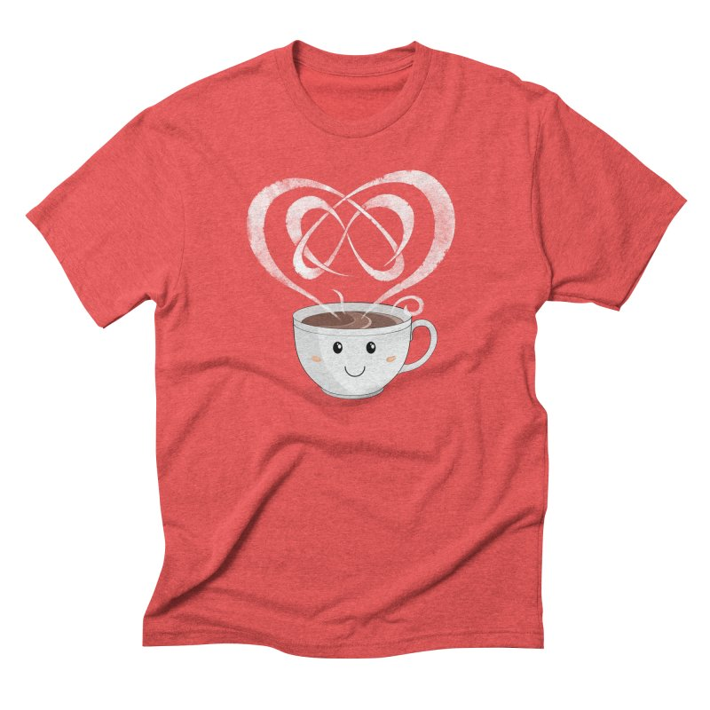 Coffee Lover Men's Triblend T-Shirt by Cumulo 7