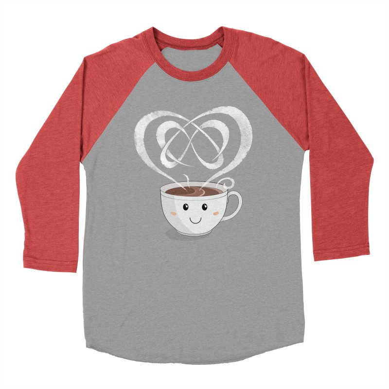 Coffee Lover Women's Baseball Triblend Longsleeve T-Shirt by Cumulo 7