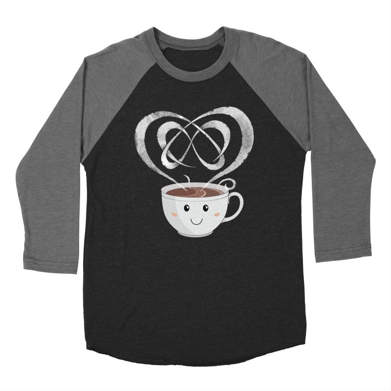 Coffee Lover Men's Baseball Triblend T-Shirt by cumulo7's Artist Shop