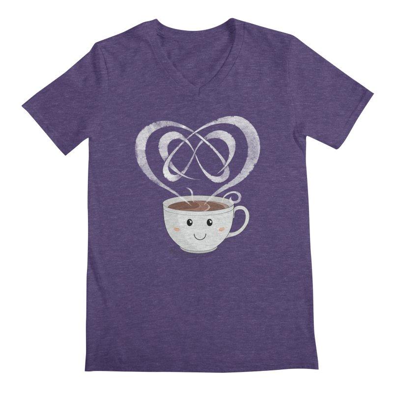 Coffee Lover Men's V-Neck by cumulo7's Artist Shop