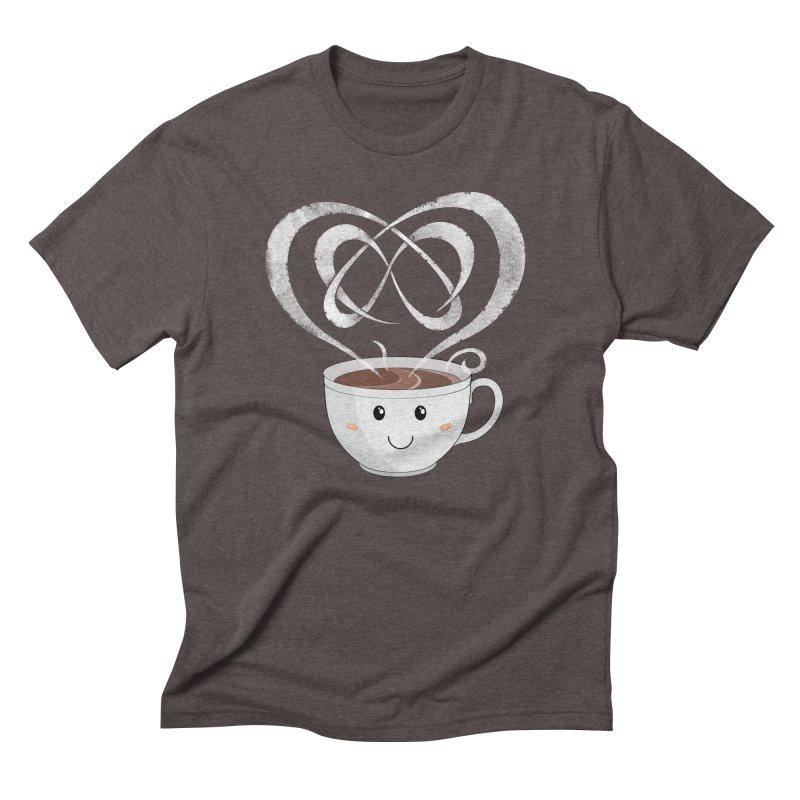 Coffee Lover Men's Triblend T-shirt by cumulo7's Artist Shop