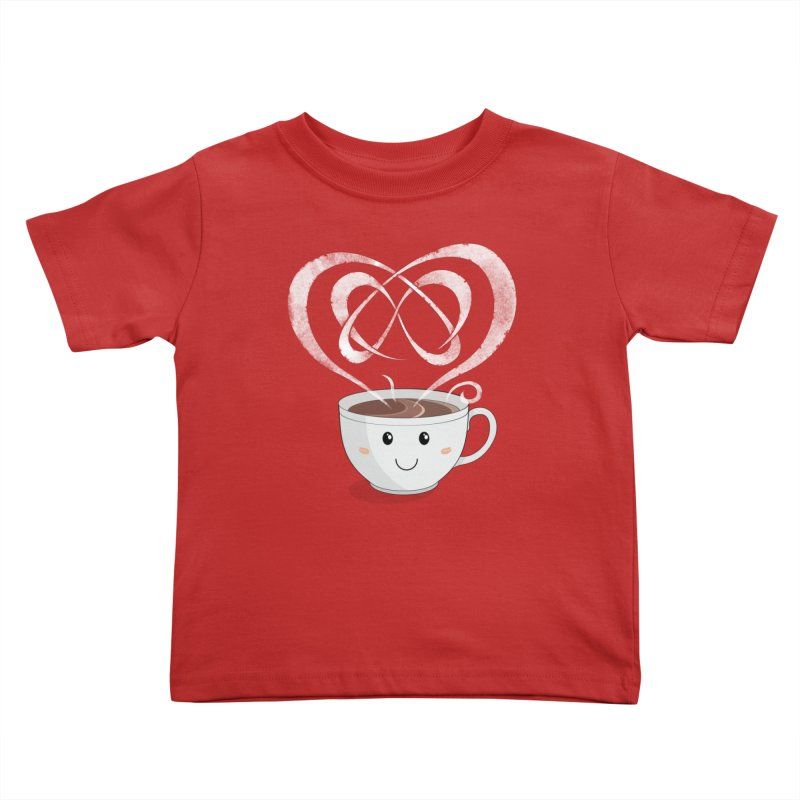 Coffee Lover Kids Toddler T-Shirt by Cumulo 7