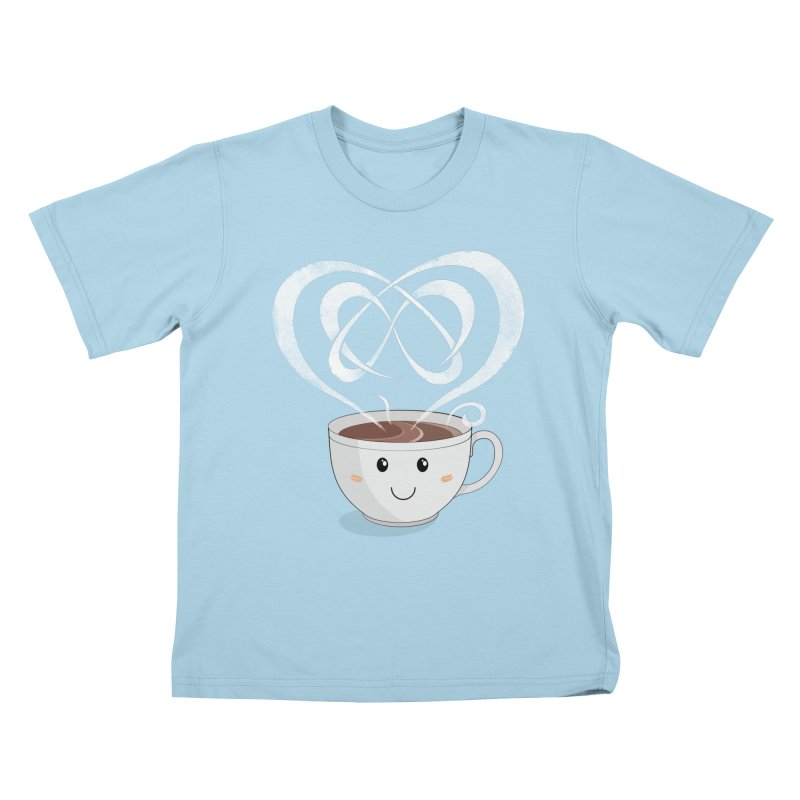 Coffee Lover Kids T-Shirt by Cumulo 7