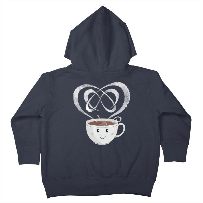Coffee Lover Kids Toddler Zip-Up Hoody by Cumulo 7