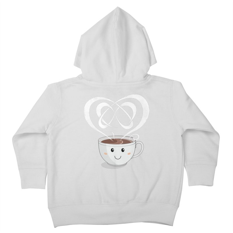 Coffee Lover Kids Toddler Zip-Up Hoody by Cumulo 7