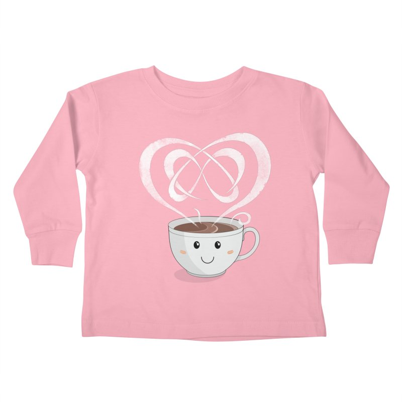 Coffee Lover Kids Toddler Longsleeve T-Shirt by cumulo7's Artist Shop