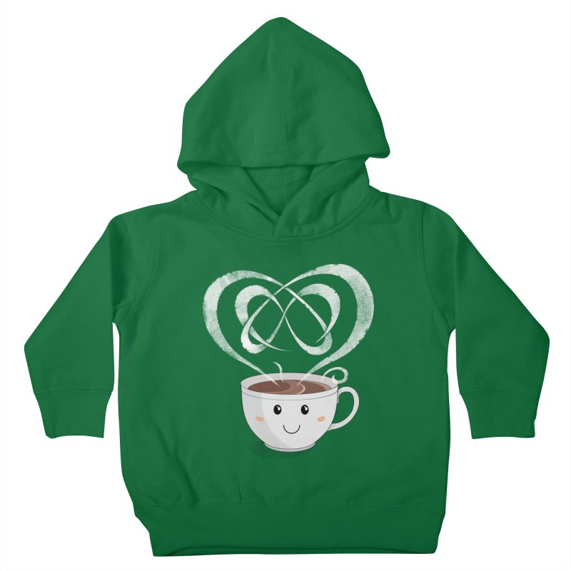 Coffee Lover Kids Toddler Pullover Hoody by Cumulo 7