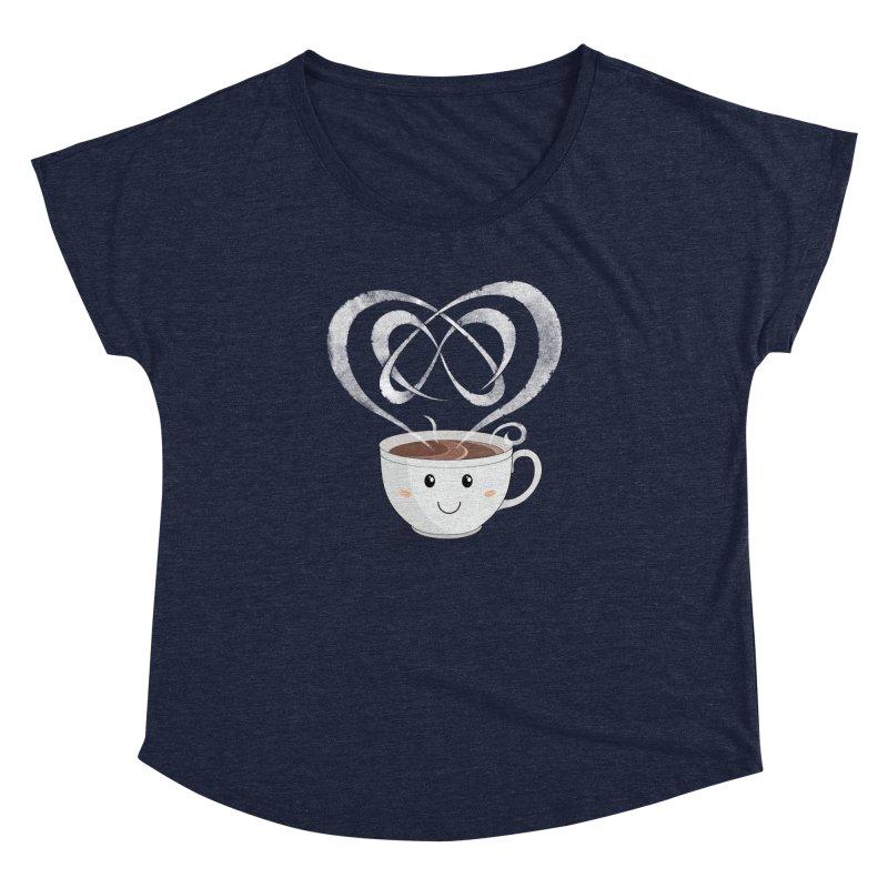 Coffee Lover Women's Dolman Scoop Neck by cumulo7's Artist Shop