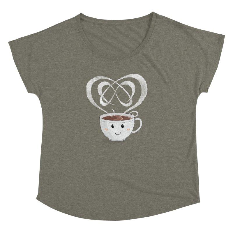 Coffee Lover Women's Dolman by cumulo7's Artist Shop