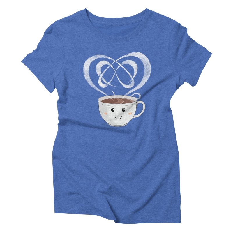Coffee Lover Women's Triblend T-Shirt by Cumulo 7
