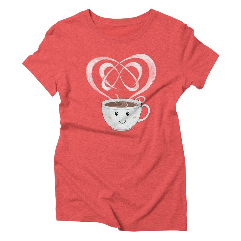Coffee Lover Women's Triblend T-shirt by cumulo7's Artist Shop
