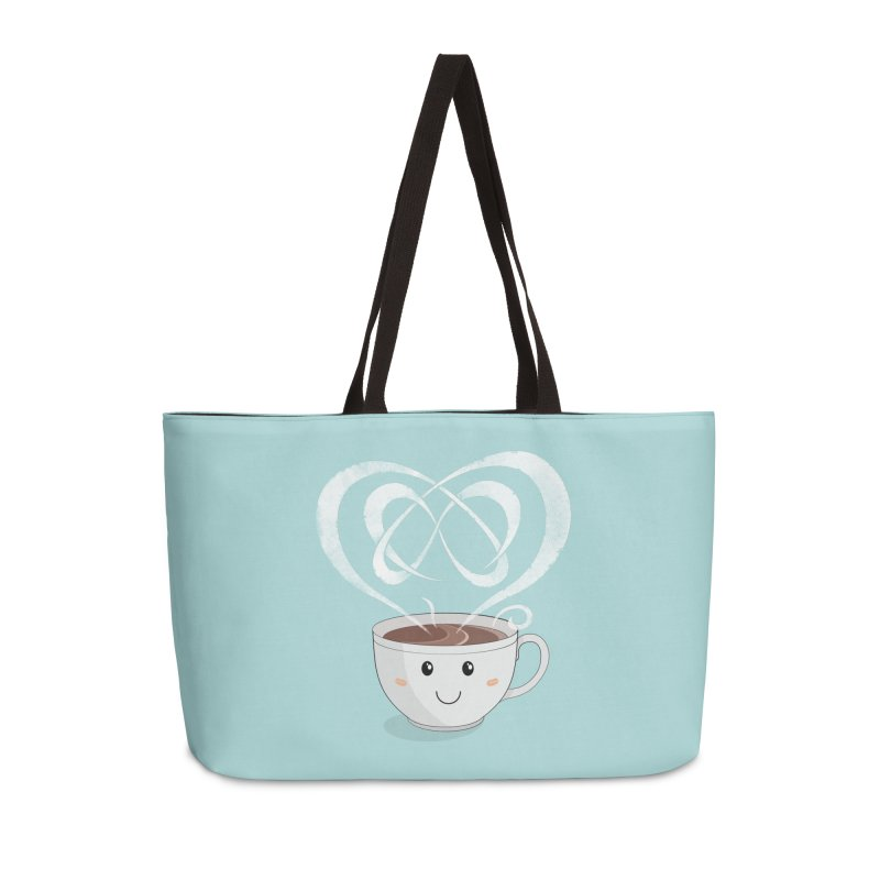 Coffee Lover Accessories Weekender Bag Bag by Cumulo 7