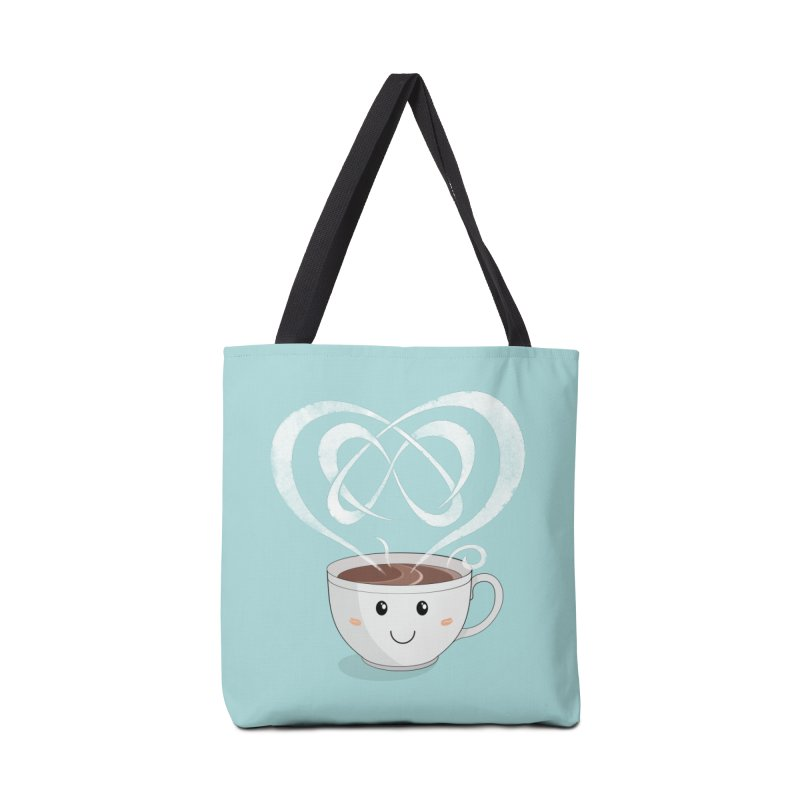 Coffee Lover Accessories Bag by cumulo7's Artist Shop