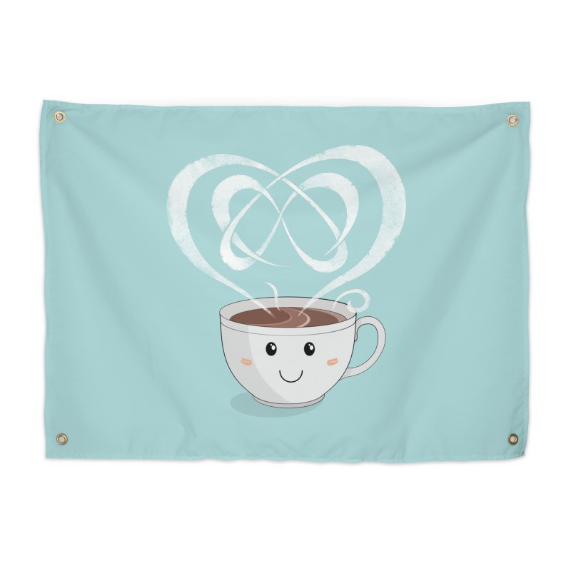 Coffee Lover Home Tapestry by cumulo7's Artist Shop
