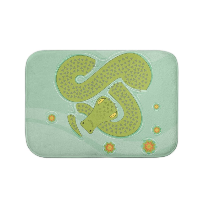 The Croc! Home Bath Mat by cumulo7's Artist Shop