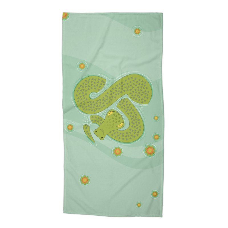 The Croc! Accessories Beach Towel by cumulo7's Artist Shop
