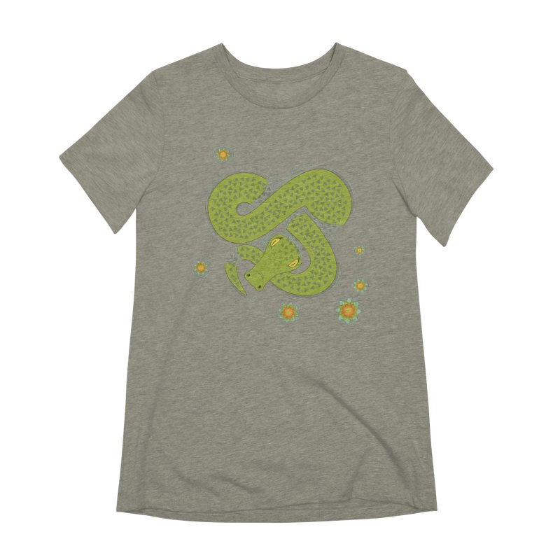 The Croc! Women's Extra Soft T-Shirt by Cumulo 7