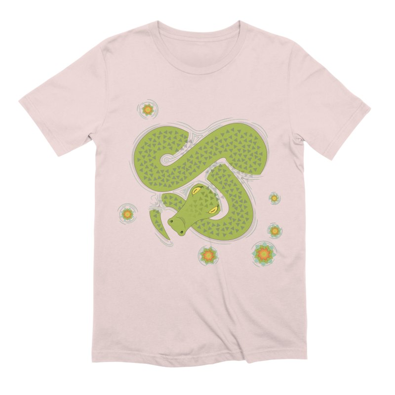 The Croc! Men's Extra Soft T-Shirt by Cumulo 7