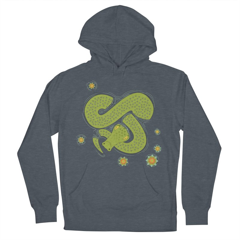 The Croc! Men's Pullover Hoody by cumulo7's Artist Shop