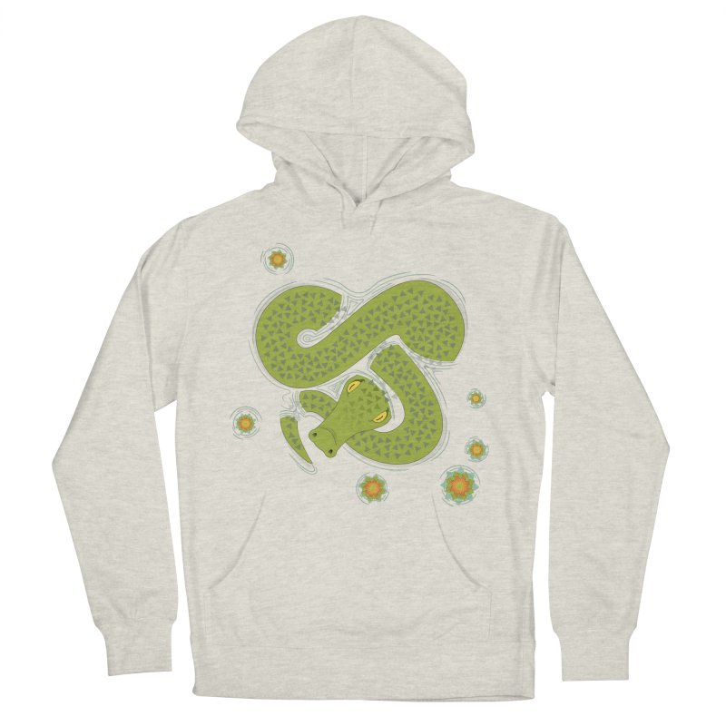 The Croc! Men's French Terry Pullover Hoody by cumulo7's Artist Shop
