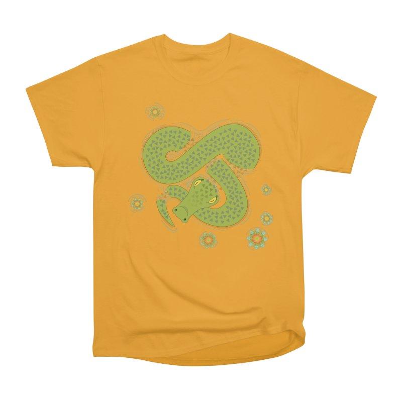 The Croc! Women's Heavyweight Unisex T-Shirt by Cumulo 7