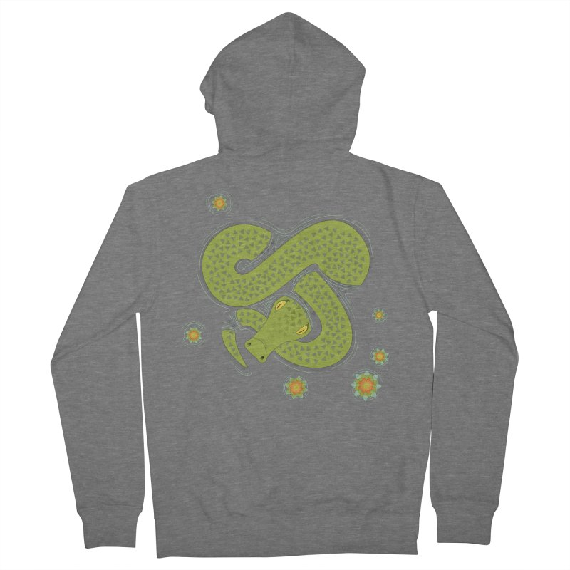 The Croc! Women's French Terry Zip-Up Hoody by Cumulo 7