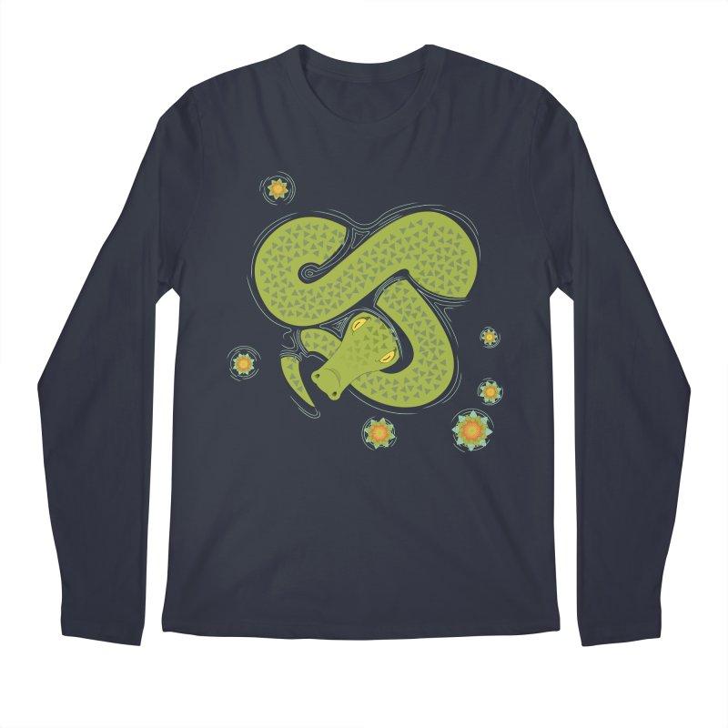 The Croc! Men's Regular Longsleeve T-Shirt by Cumulo 7