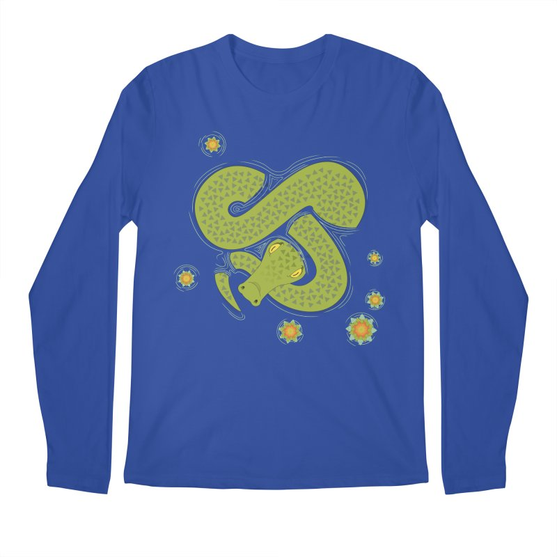 The Croc! Men's Longsleeve T-Shirt by cumulo7's Artist Shop