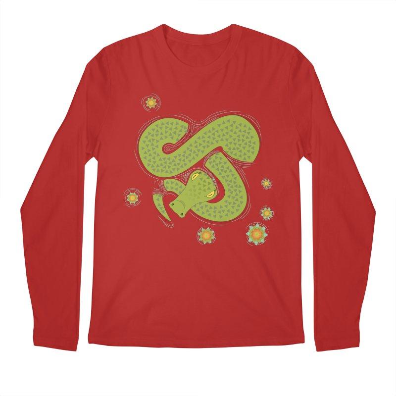 The Croc! Men's Longsleeve T-Shirt by cumulo7's Artist Shop