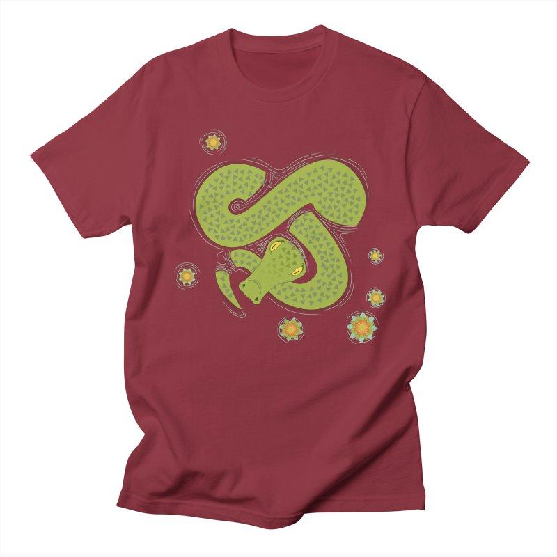 The Croc! Men's T-shirt by cumulo7's Artist Shop