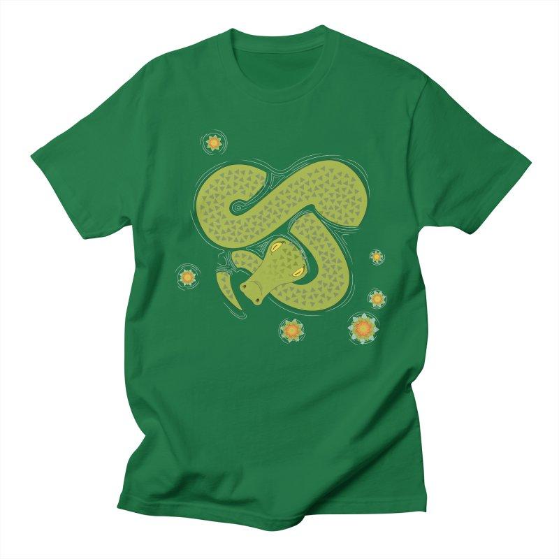 The Croc! Men's Regular T-Shirt by Cumulo 7