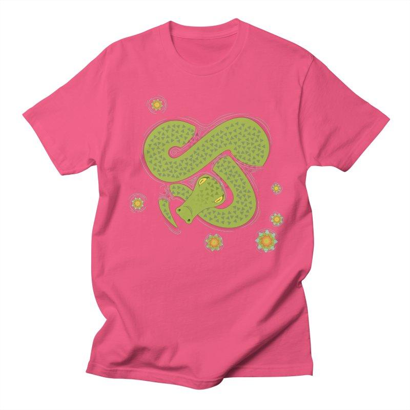 The Croc! Women's Regular Unisex T-Shirt by Cumulo 7