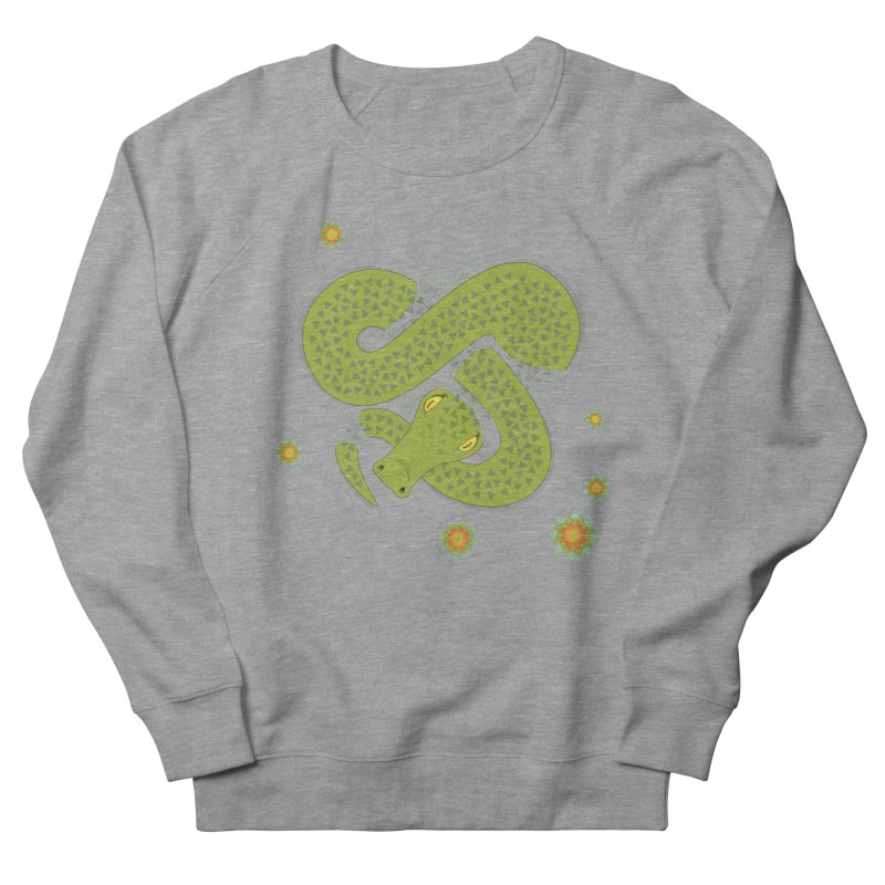The Croc! Women's French Terry Sweatshirt by Cumulo 7