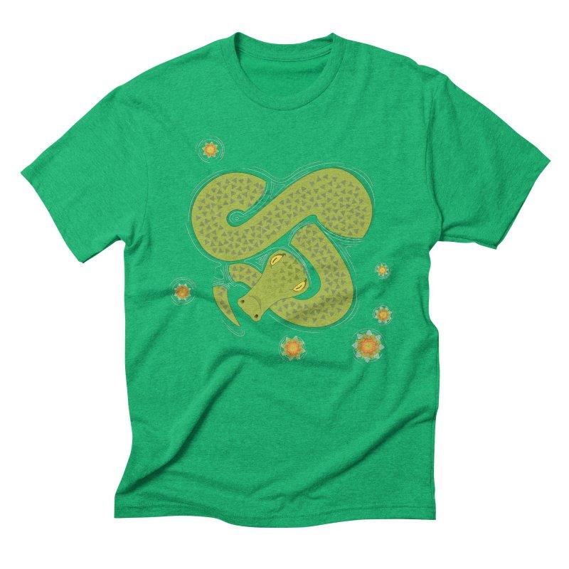 The Croc! Men's Triblend T-shirt by cumulo7's Artist Shop