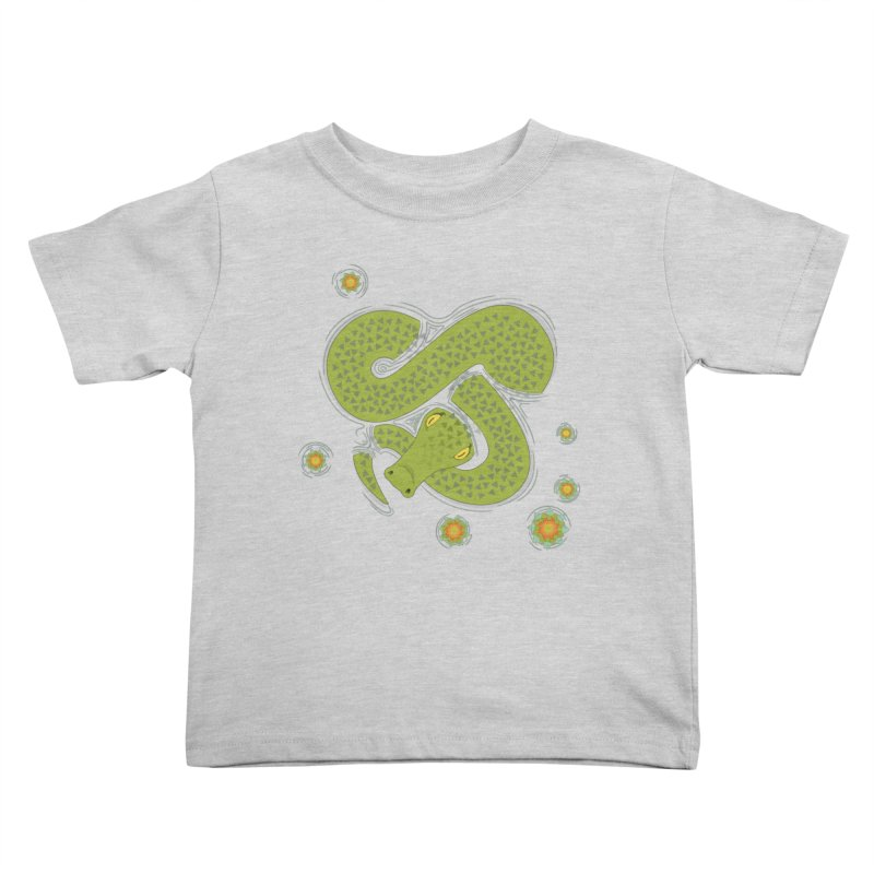 The Croc! Kids Toddler T-Shirt by Cumulo 7