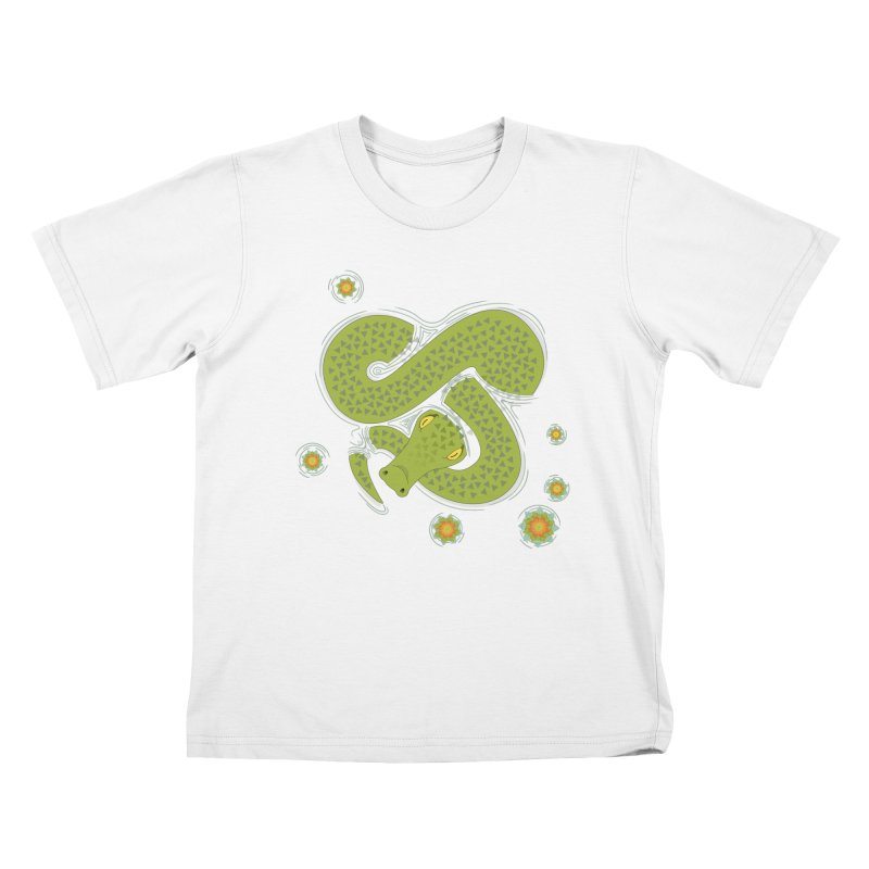 The Croc! Kids T-shirt by cumulo7's Artist Shop