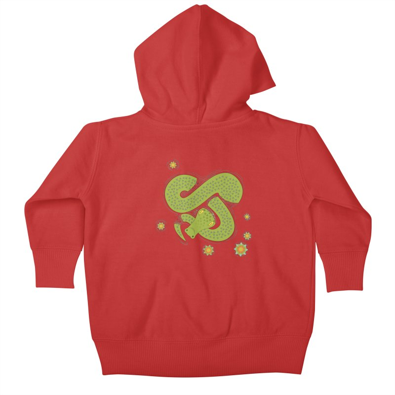 The Croc! Kids Baby Zip-Up Hoody by Cumulo 7