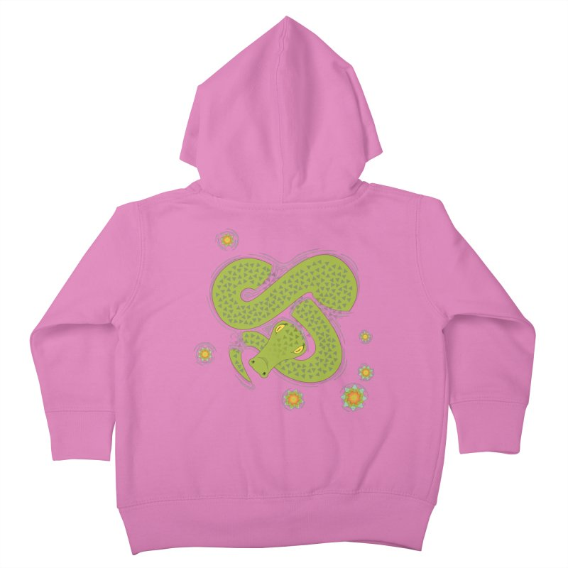 The Croc! Kids Toddler Zip-Up Hoody by cumulo7's Artist Shop