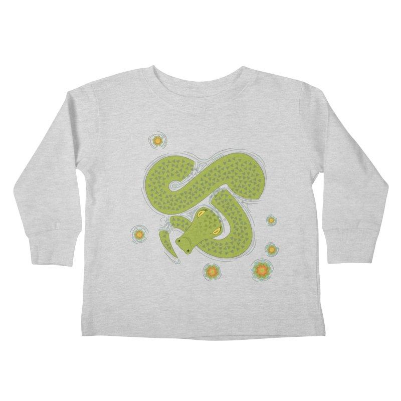 The Croc! Kids Toddler Longsleeve T-Shirt by Cumulo 7