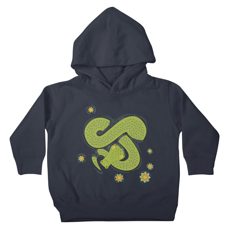 The Croc! Kids Toddler Pullover Hoody by cumulo7's Artist Shop