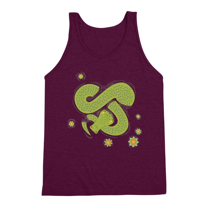 The Croc! Men's Triblend Tank by Cumulo 7