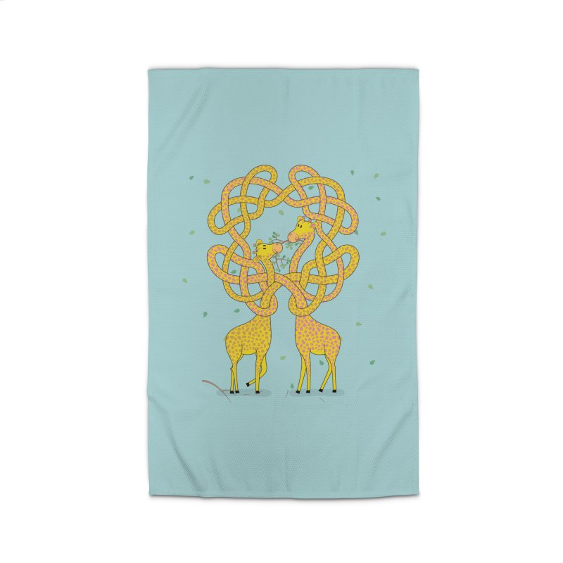 When Giraffes Fight Home Rug by cumulo7's Artist Shop