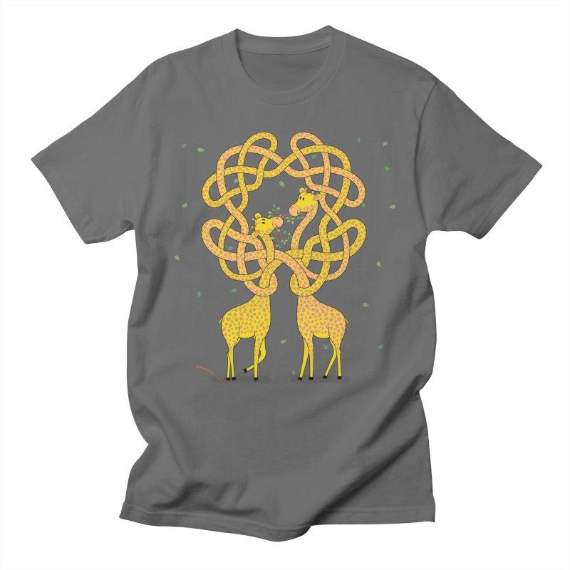 When Giraffes Fight Men's T-Shirt by Cumulo 7