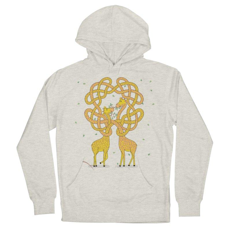 When Giraffes Fight Women's Pullover Hoody by cumulo7's Artist Shop