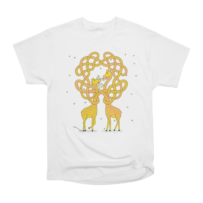 When Giraffes Fight Men's Classic T-Shirt by cumulo7's Artist Shop