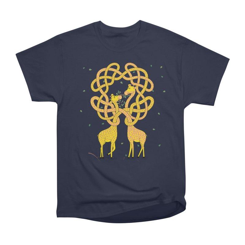 When Giraffes Fight Men's Classic T-Shirt by cumulo7's Artist Shop