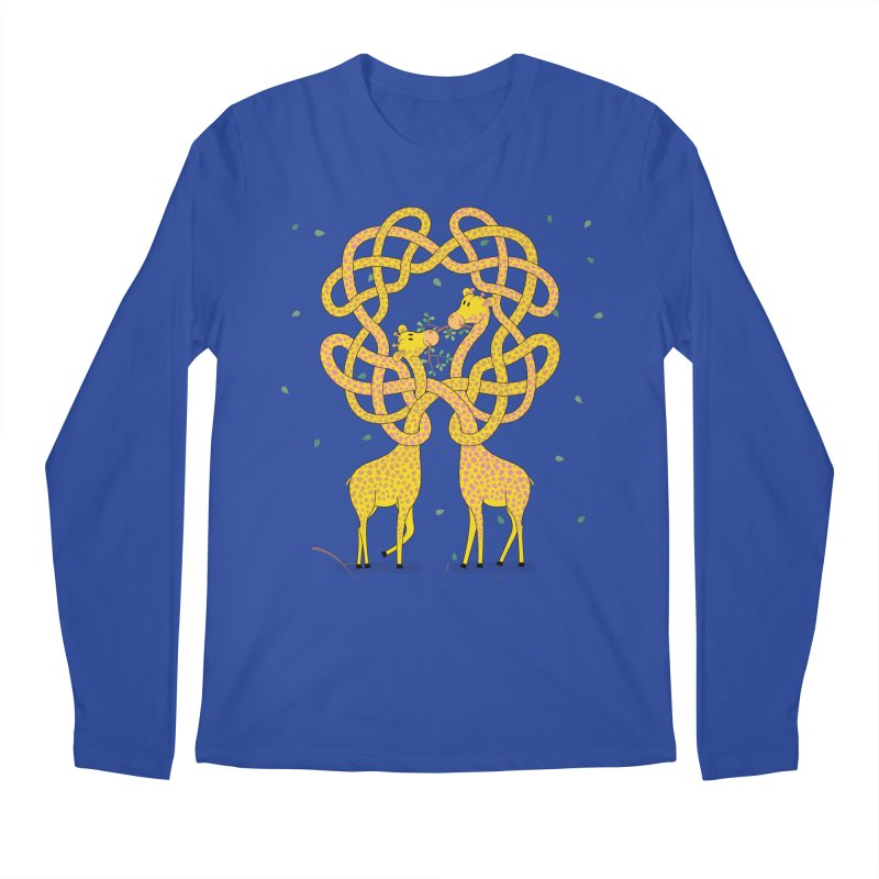 When Giraffes Fight Men's Longsleeve T-Shirt by cumulo7's Artist Shop
